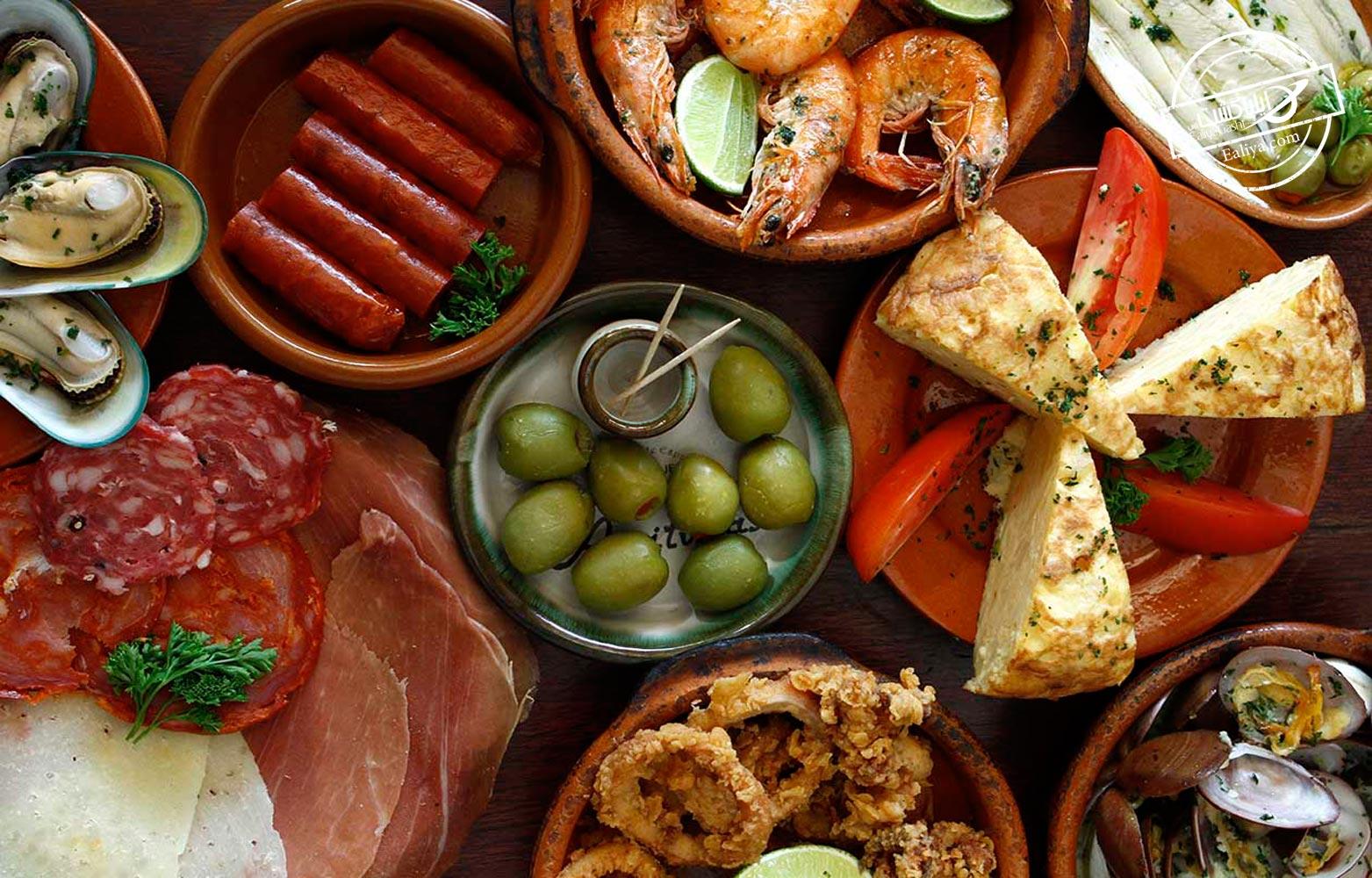 محبوب ترین خوراکی های اسپانیا