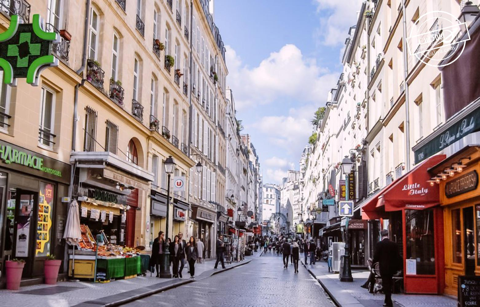 خیابان های پاریس