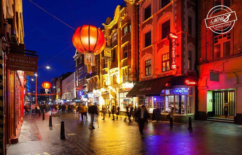 آشنایی با محله چینی ها در لندن
