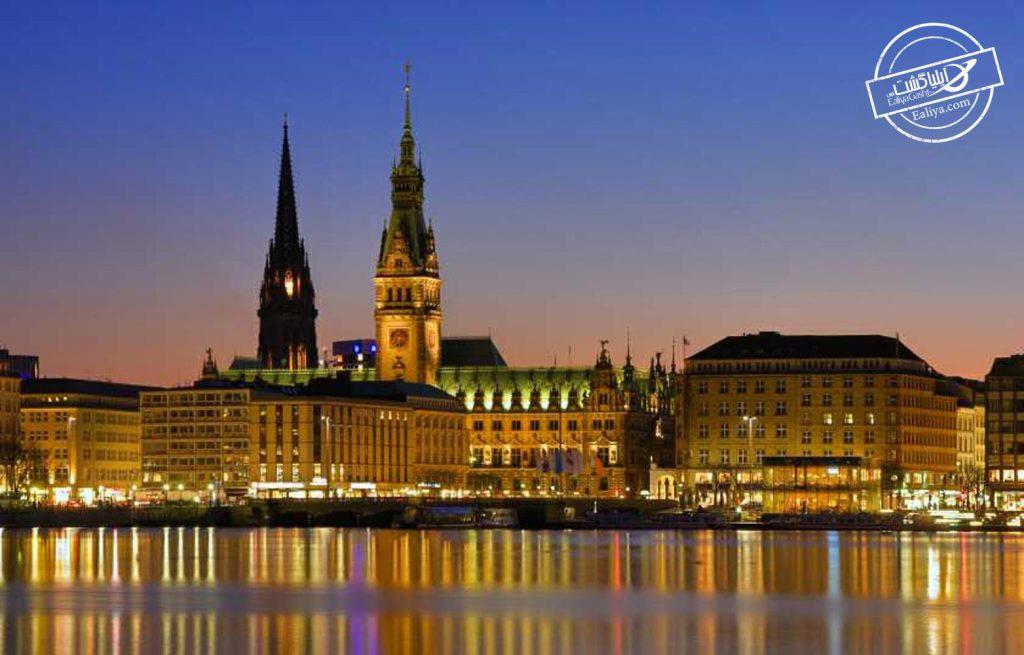 شهر هامبورگ آلمان