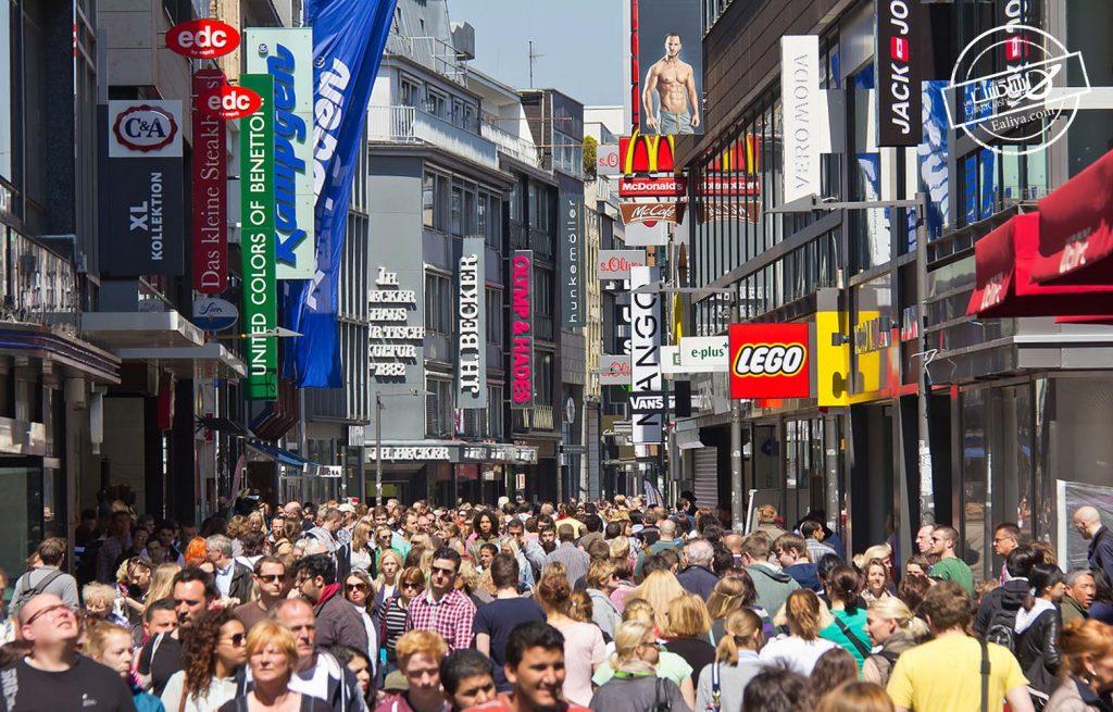 خیابان شیلداگاسه آلمان