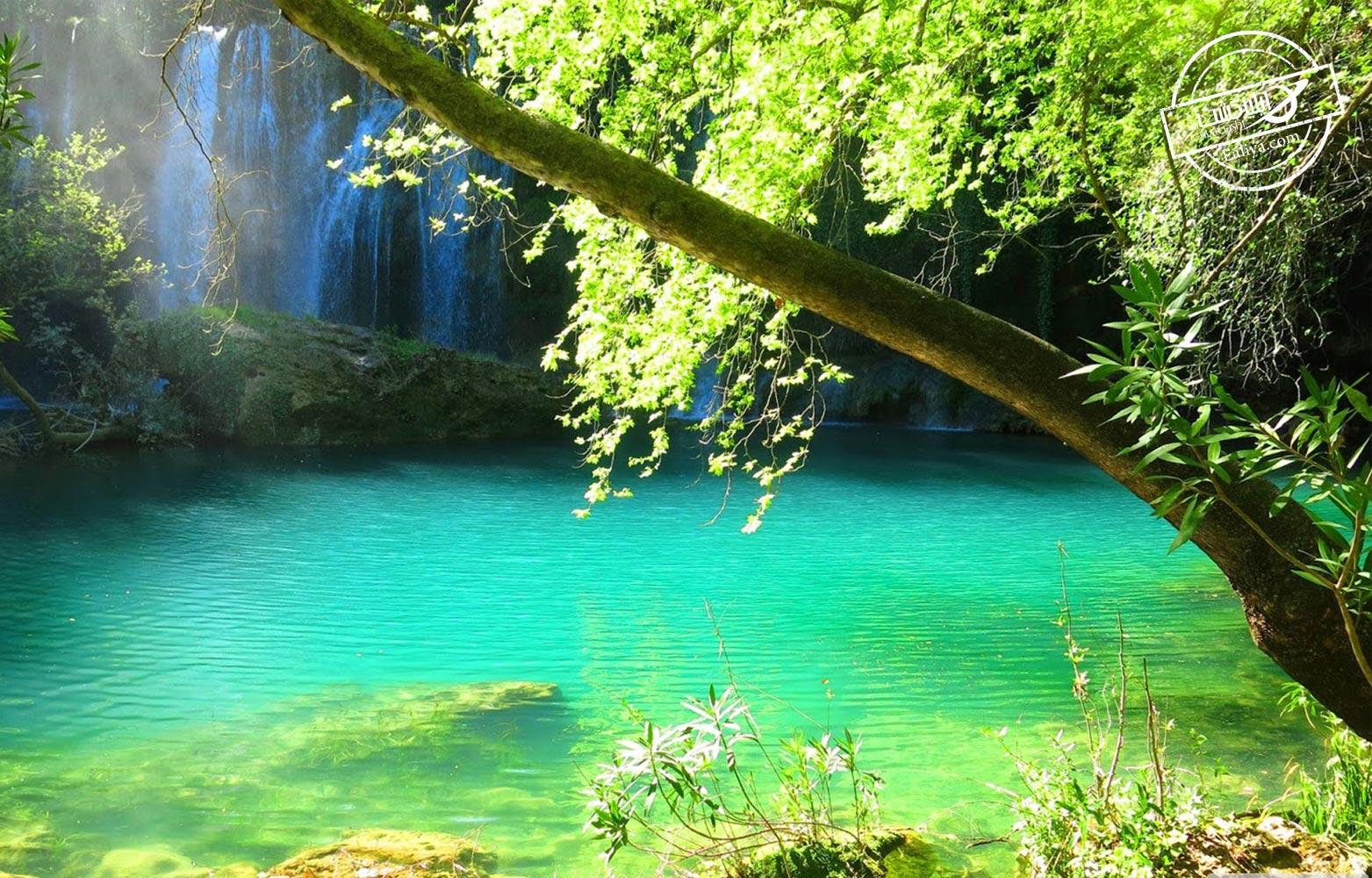بخش های بالایی آبشارهای دودن آنتالیا