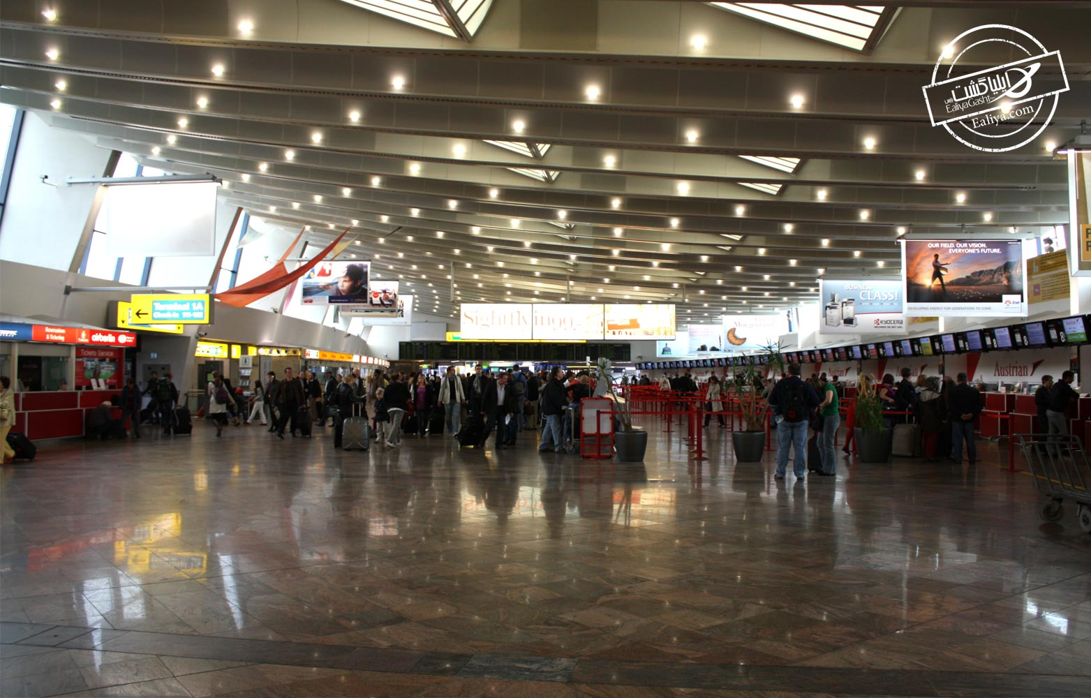 تاریخچه فرودگاه وین