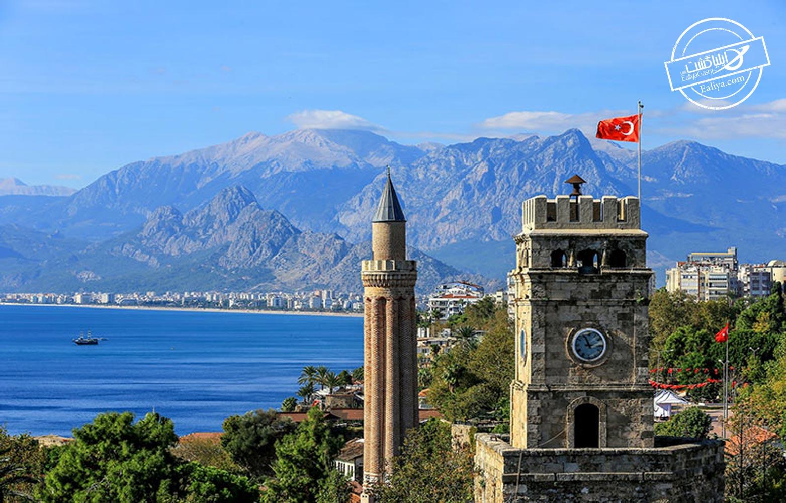 تاریخچه ی از شهر آنتالیا