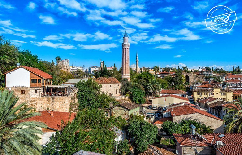 مسجد بیولی مناره