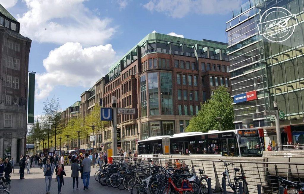 مونکبرگ خیابانی در هامبورگ