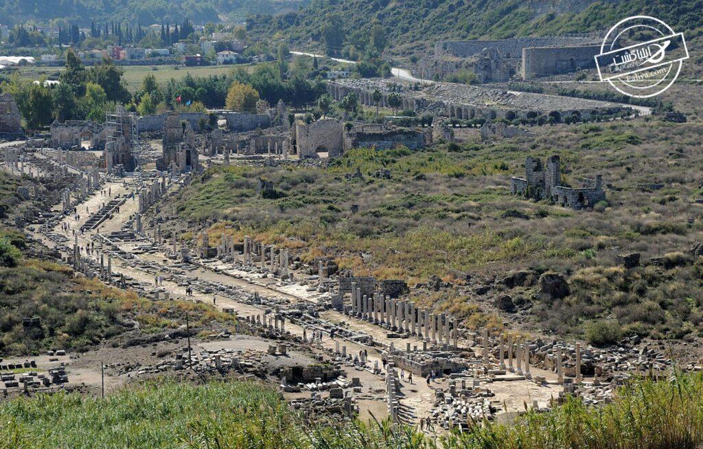 شهر باستانی پرگا ترکیه