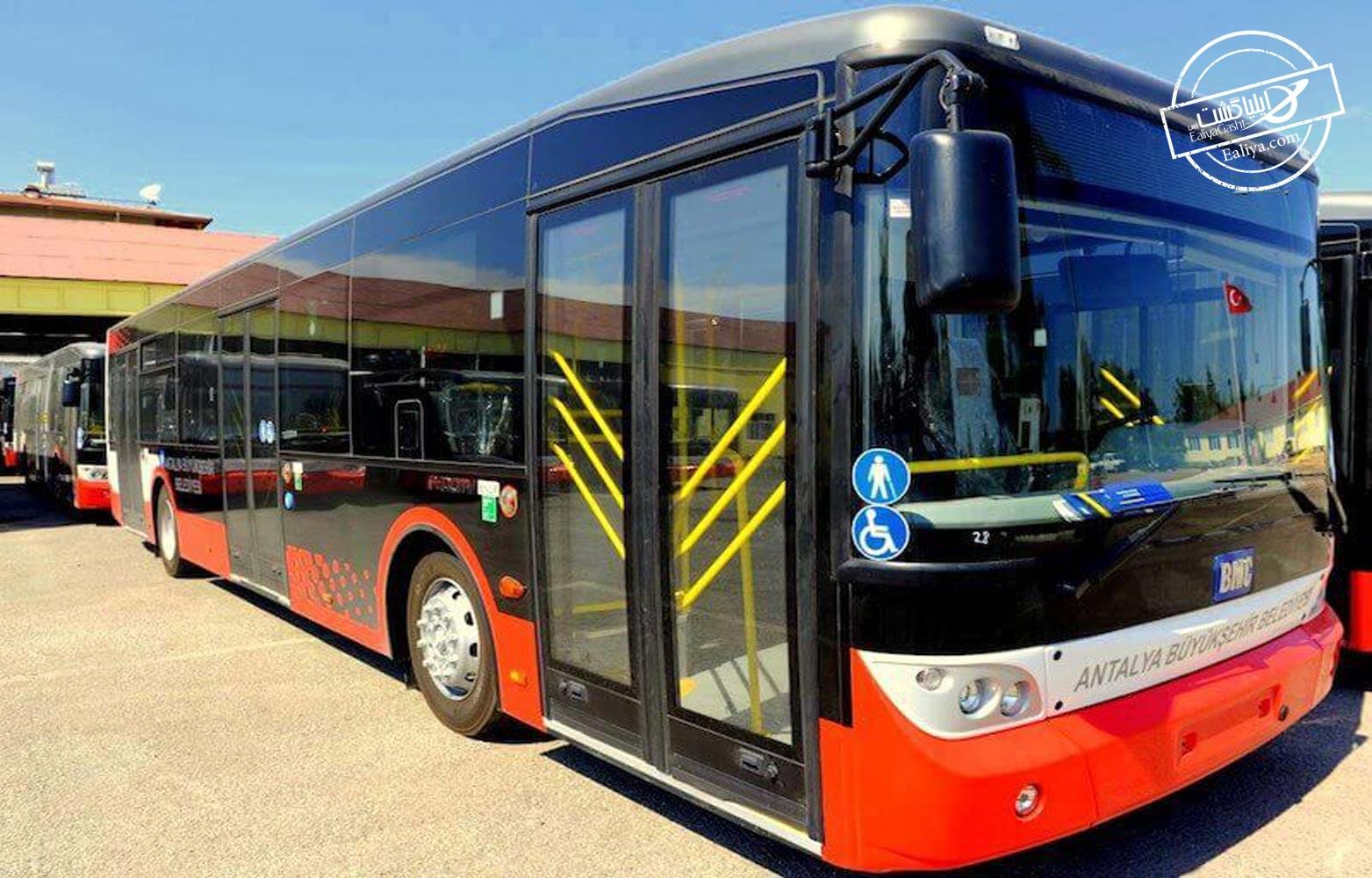 اتوبوس های آنتالیا