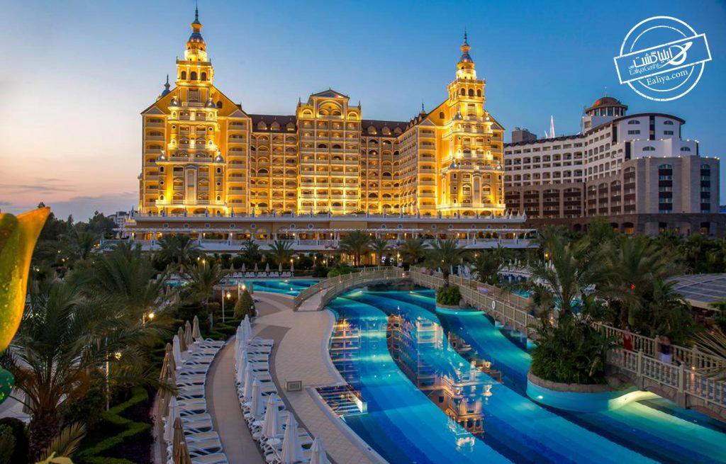 لاکچری ترین هتل آنتالیا