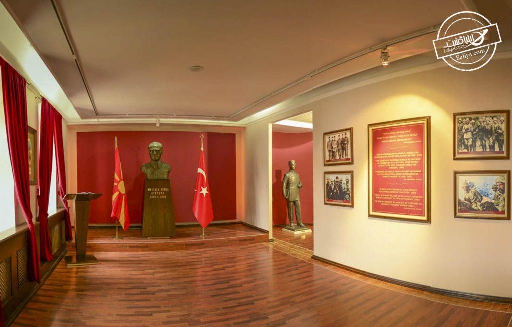 نمایی از موزه آتاتورک