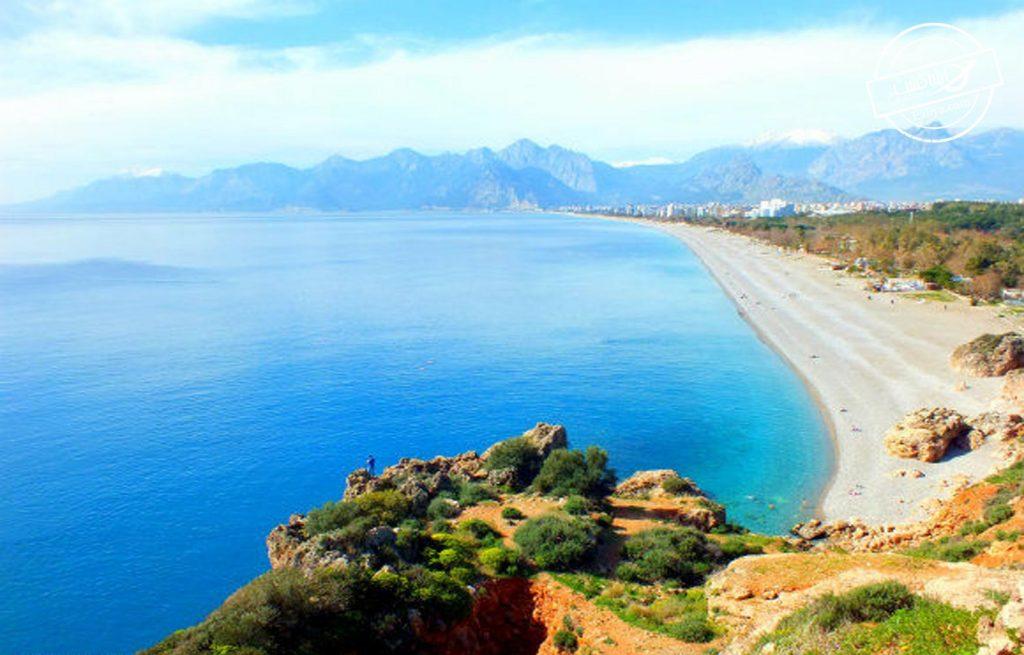 ساحل کنیالتی در آنتالیا