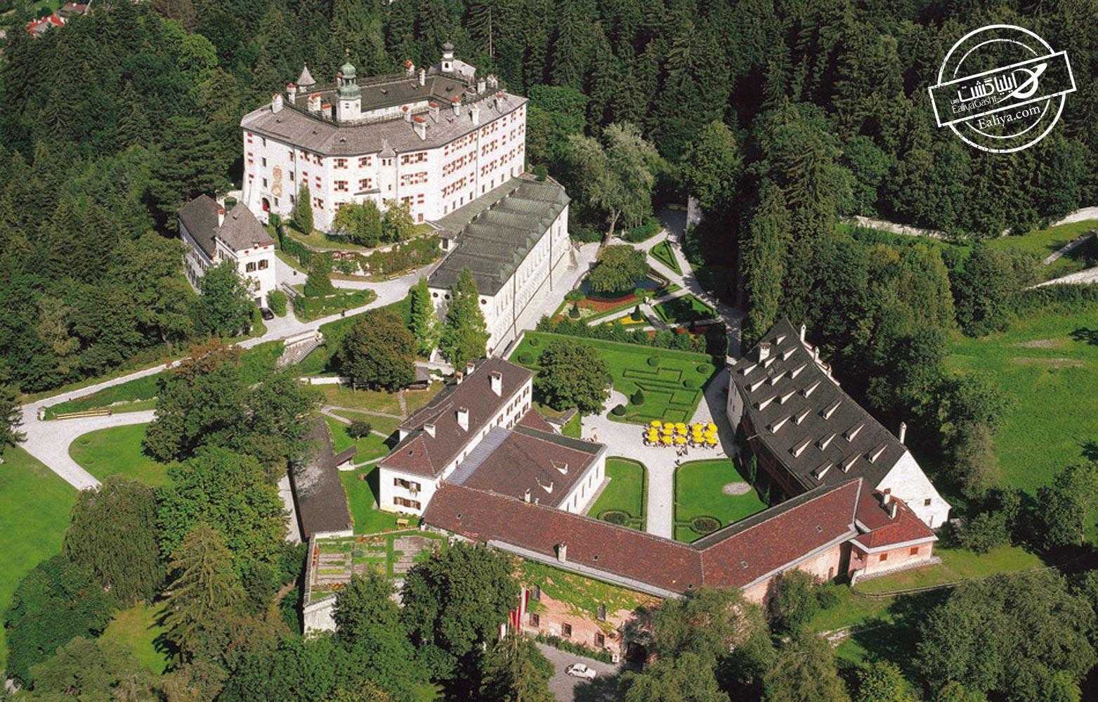 ساختار کلی قلعه آمبراس