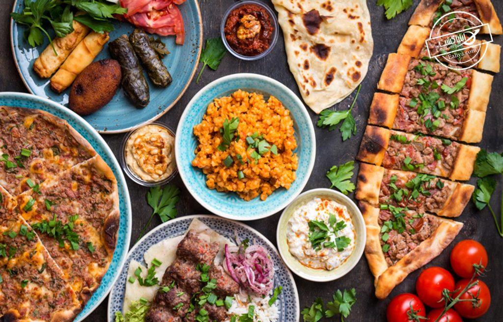 هزینه وعده عذایی در آنتالیا
