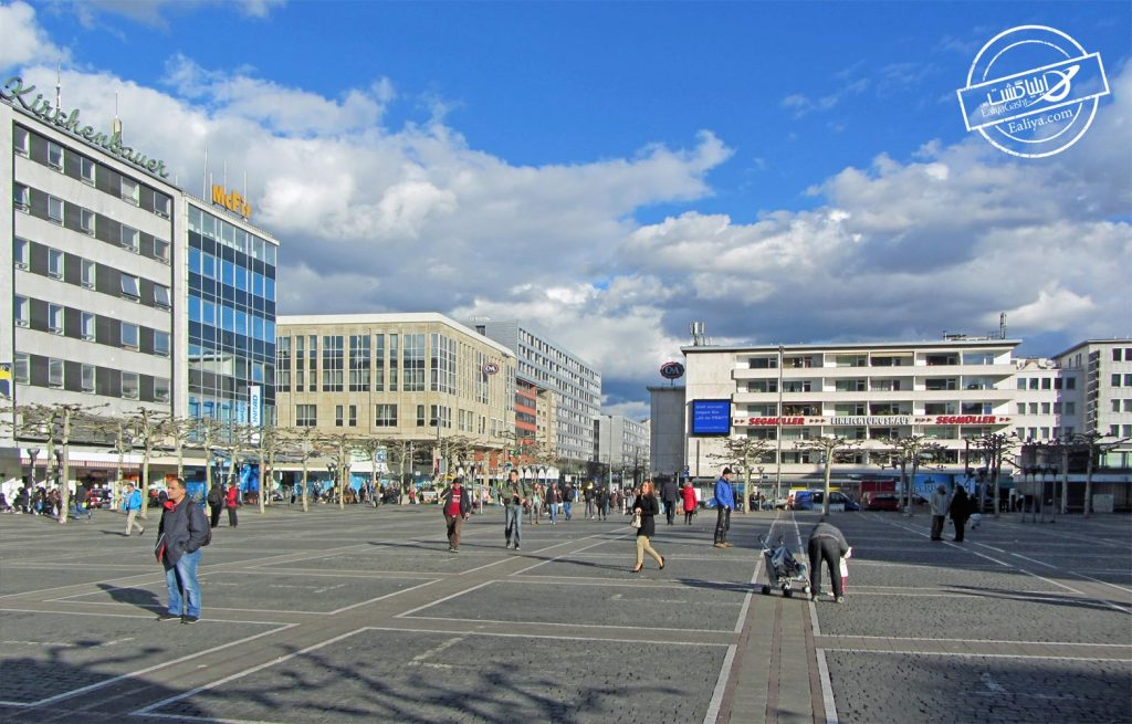 زیل از خیابان های فرانکفورت
