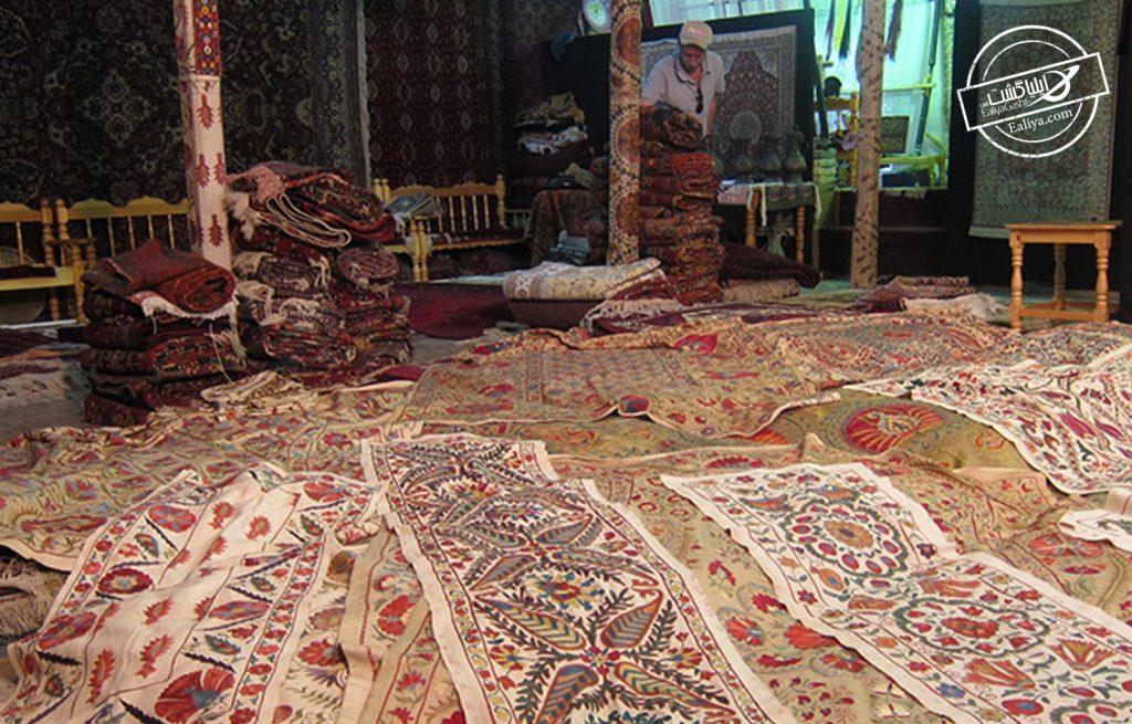 بازارهای محلی فرش آنتالیا