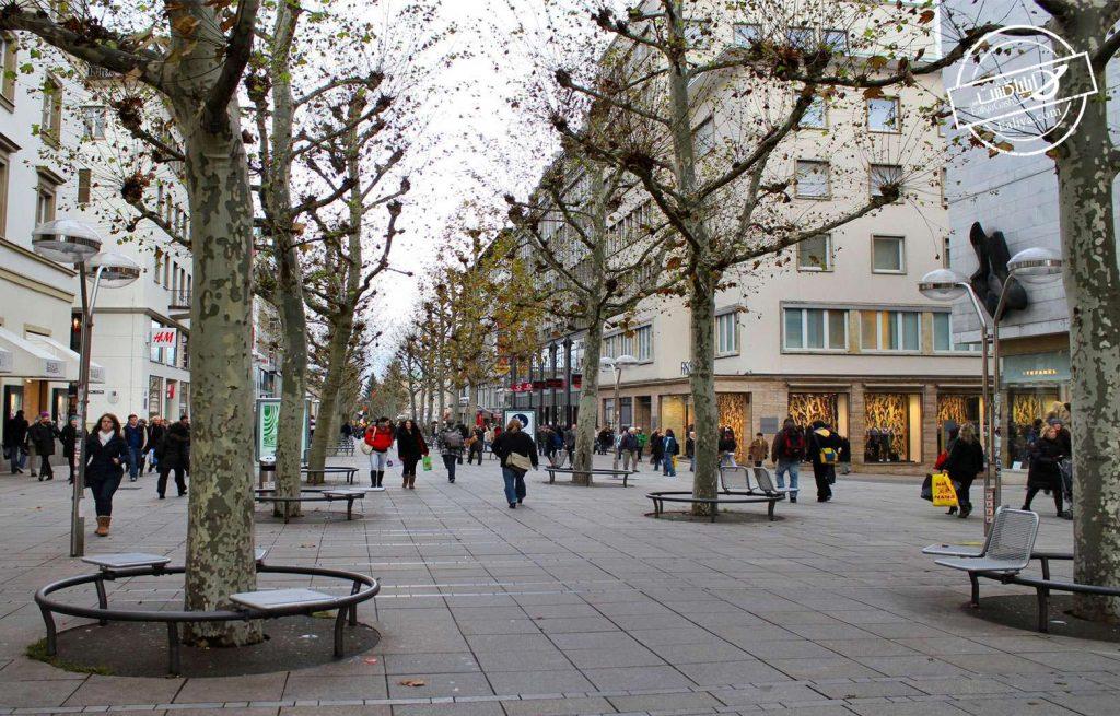 خیابان سندلینگر آلمان
