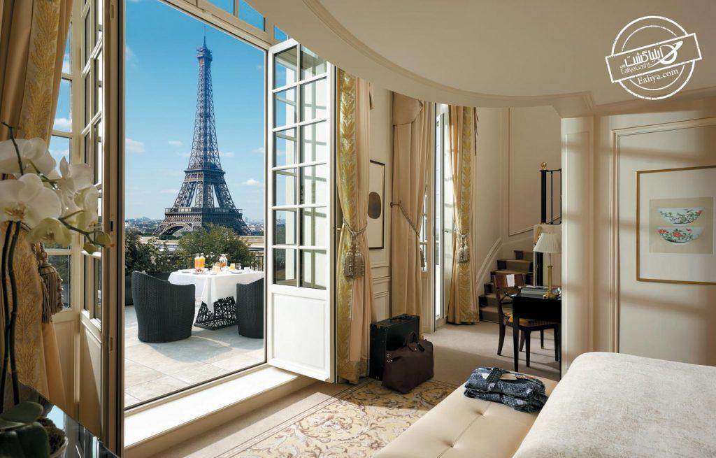 هتل مرکز شهر پاریس