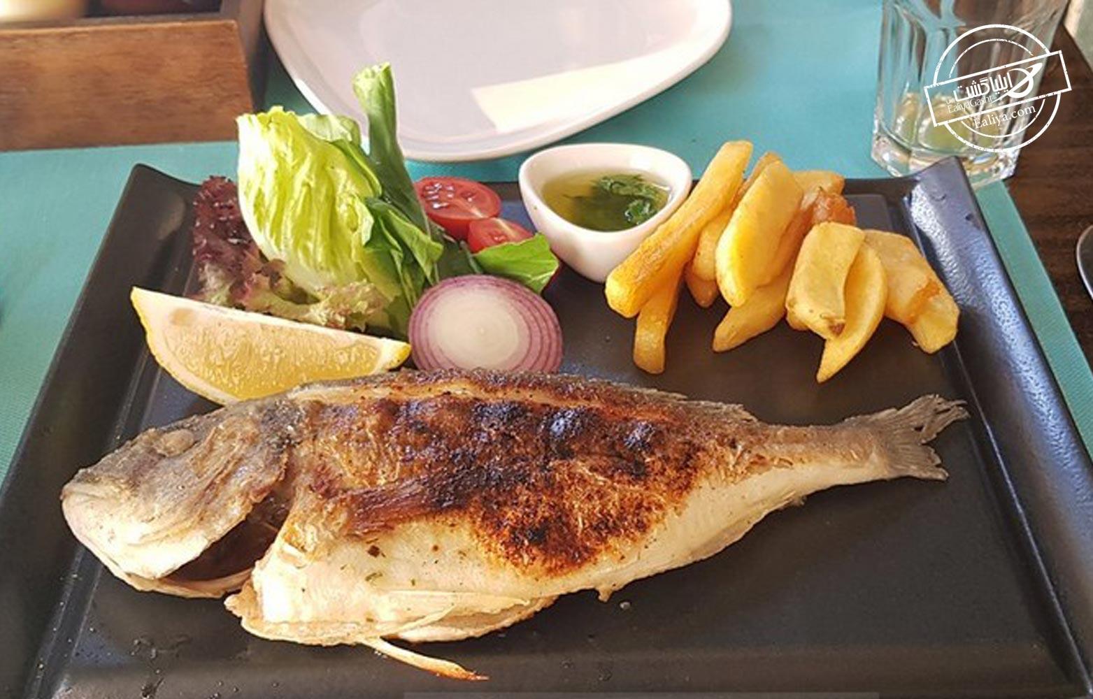 غذاهای دریایی کوش آداسی