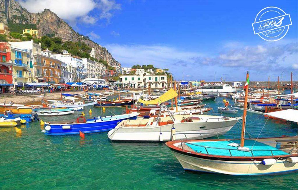 تفریحات قایق سواری در ایتالیا