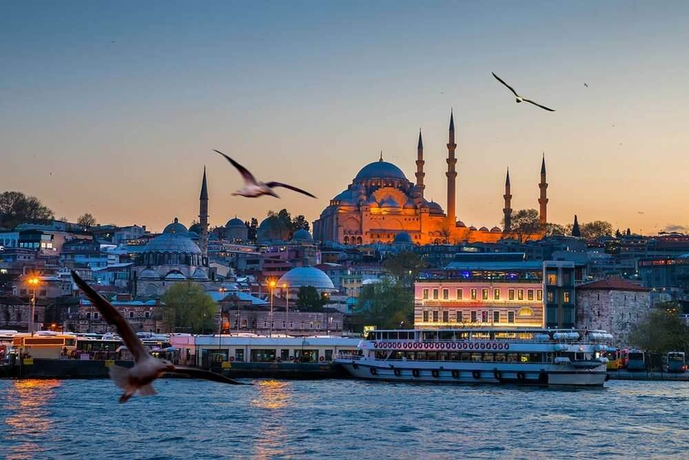گردش در استانبول