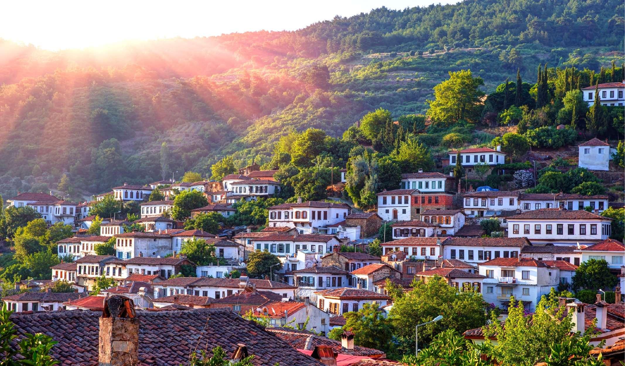 نگاهی گذرا به روستای شیرینجه کوشی آداسی