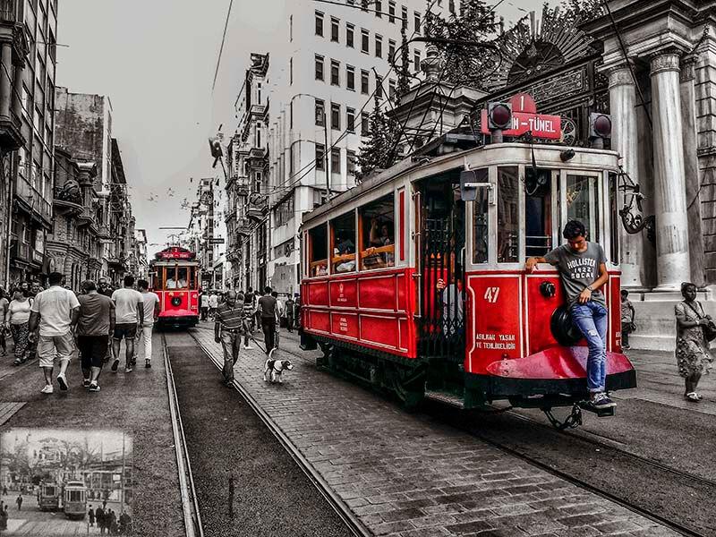 راهنمایی سیستم حمل و نقل استانبول