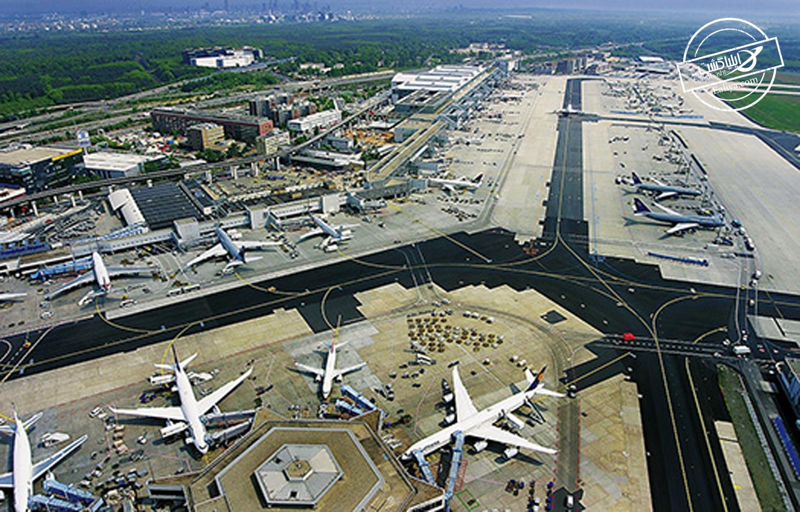 تاریخچه فرودگاه فرانکفورت