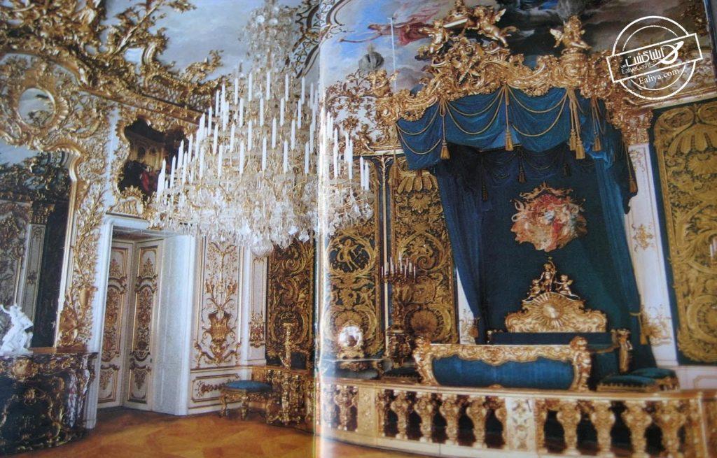 اتاق خواب کاخ لیندرهوف