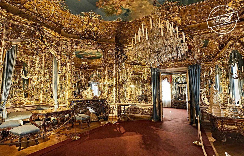 نمای داخلی قلعه هوهن