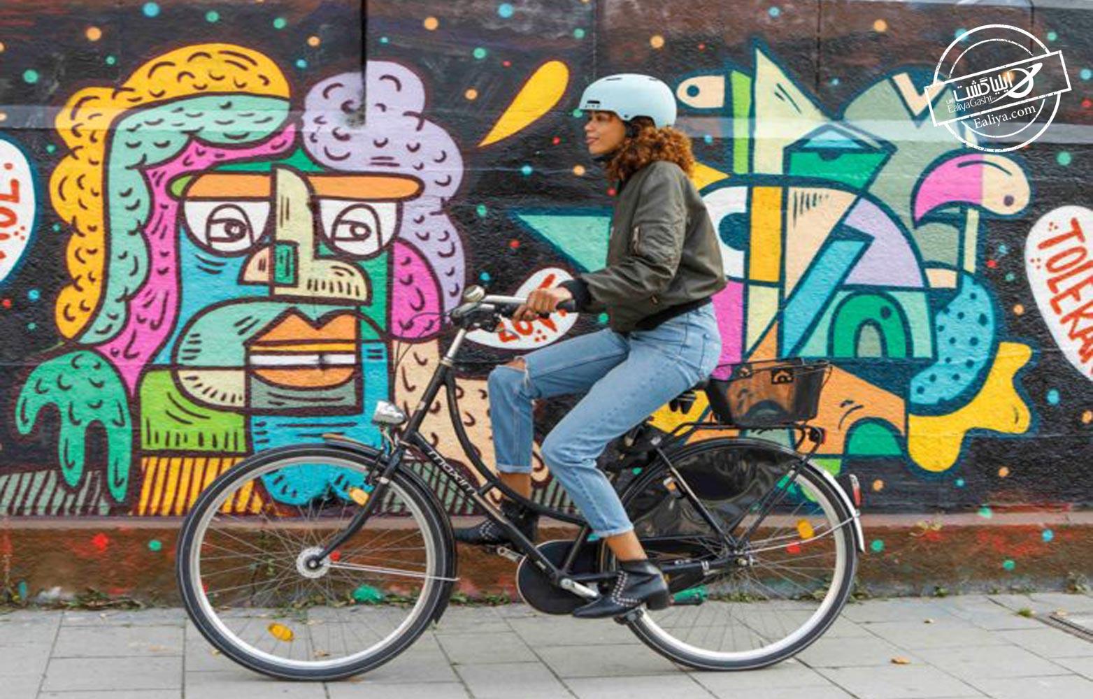 تماشای شهر و دوچرخه سواری