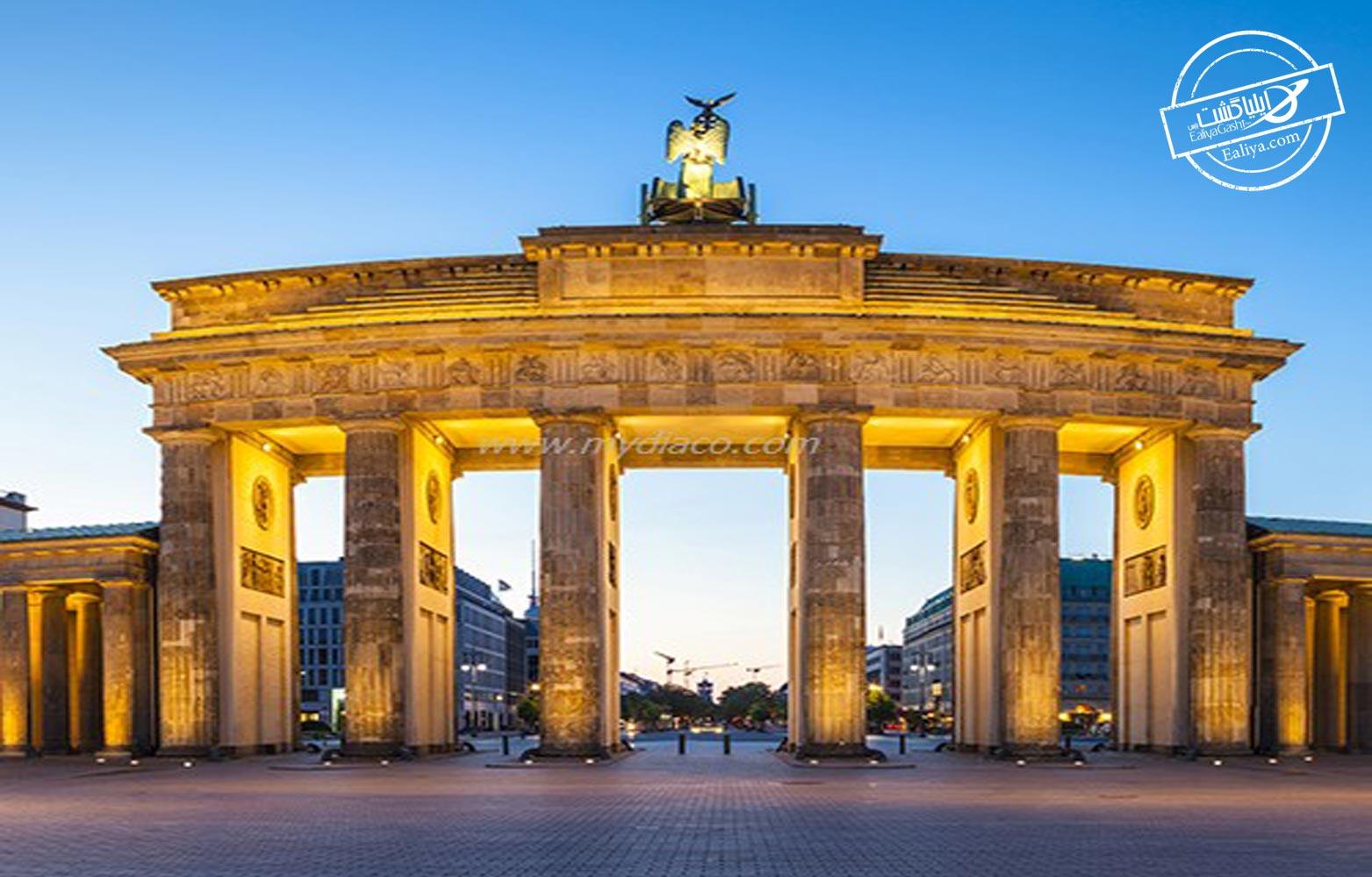معرفی دروازه براندنبورگ برلین