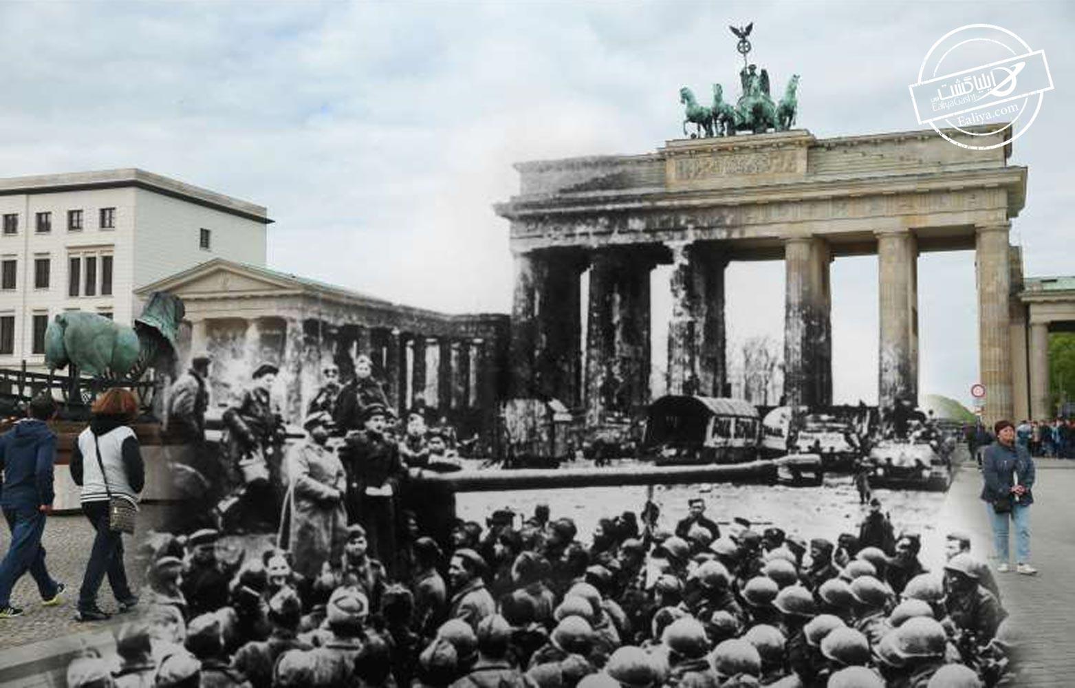 تاریخچه ی از دروازه براندنبورگ