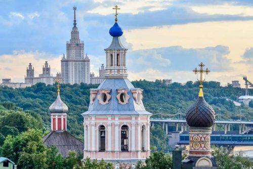 تپه گنجشک های مسکو