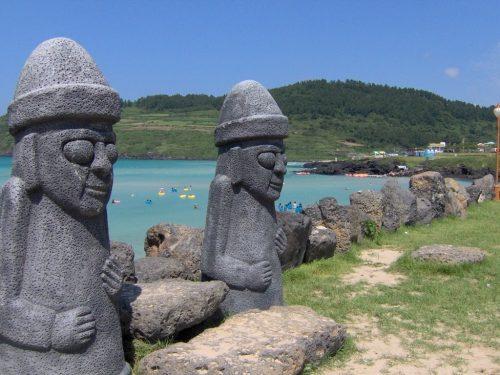 مجسمه های دول هاریوبانگ کره جنوبی