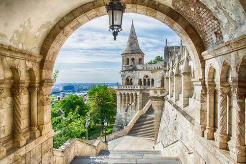 قلعه ماهیگیر مجارستان