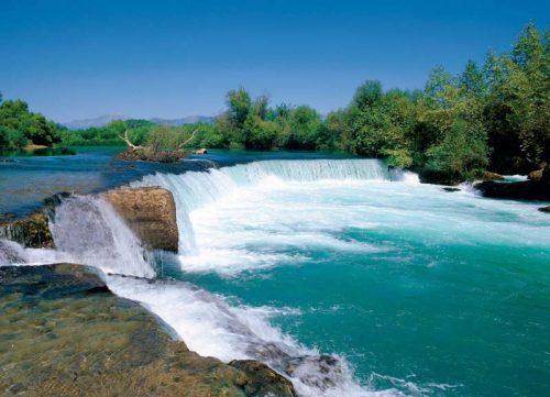 رودخانه و آبشار ماناوگات آنتالیا