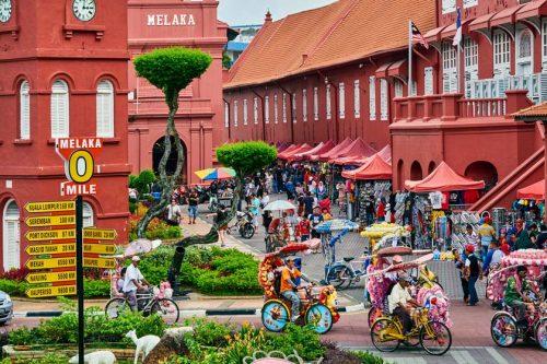 شهر تاریخی مالاکا مالزی