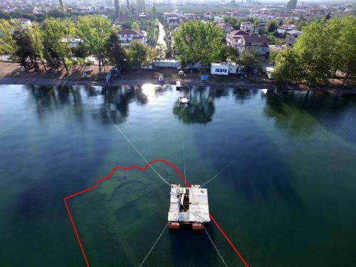 کلیسا پنهان در زیر آب ایزنیک ترکیه